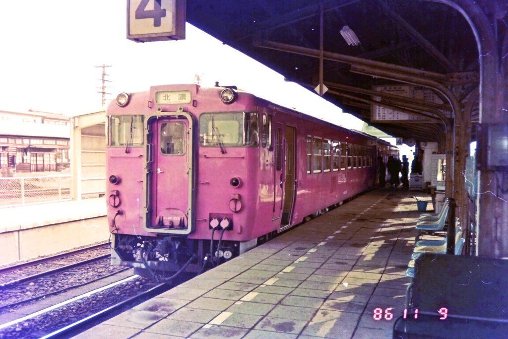越美南線(美濃太田駅)